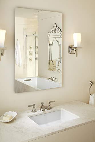 Kohler K-EC2882-0 Verticyl Rectangle Bathroom Sink, White