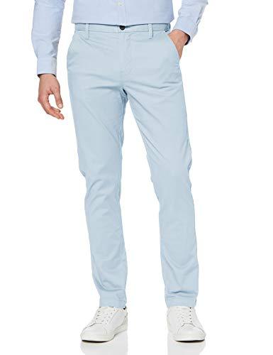 Amazon-Marke: MERAKI Herren Chinohose Slim Fit, Blau (Cashmere Blue), 36W / 34L, Label: 36W / 34L