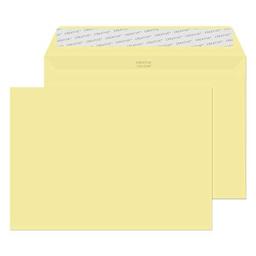 Creative Colour 45354 gekleurde enveloppen zelfklevende vanille ijs C5 162 x 229 mm 120 g/m2   25 stuks
