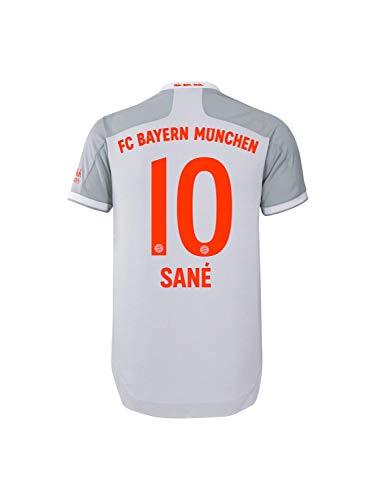 FC Bayern München Authentic Away-Trikot Auswärts Saison 2020/21, Gr. M, Leroy Sané