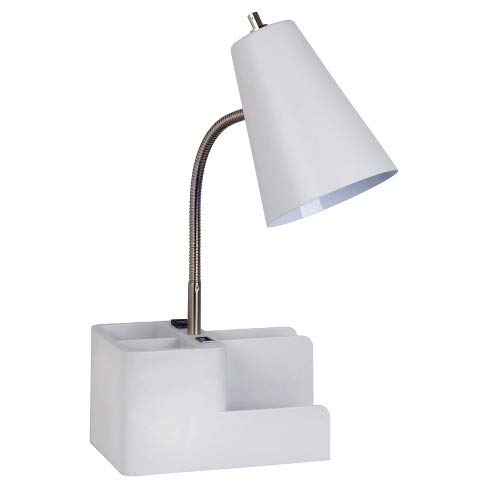 Organizer Task Lamp Off White  - Room Essentials™