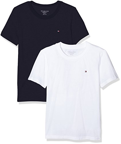 Tommy Hilfiger jongens t-shirt Cotton cn tee ss icon 2 pack
