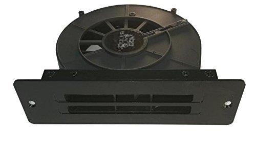 Coolerguys 12V Powered Blower Fan with Exhaust Vent Bracket