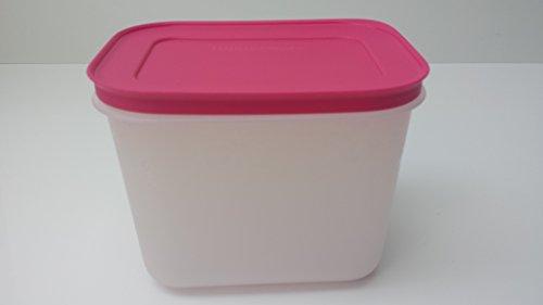 Tupperware Gefrierbehälter eingefrieren pink Behälter mit Deckel 1,1 Liter 1100ml auslaufsicher Kühltruhe Gefriertruhe
