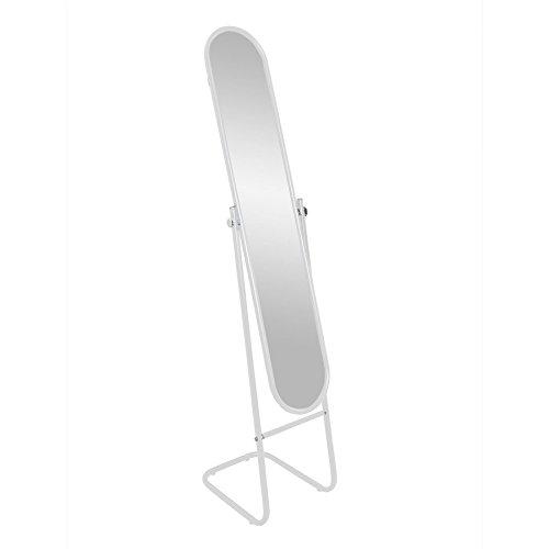 Standspiegel - freistehend & kippbar - Weiß
