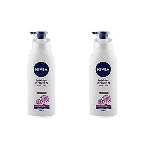 2 Lots X Nivea Whitening Even Tone UV Protect Lotion, 400ml