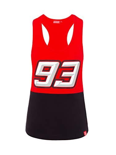 Marc Marquez Camiseta 93 Bicolor para Mujer