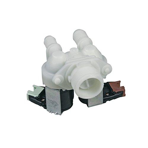 Electrolux AEG 1325186110 132518611 Magnetventil Einlaufventil Zulaufventil 2 fach Waschmaschine auch Zanussi Curtiss Privileg Zanker ArthurMartin