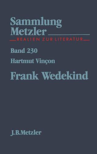 Frank Wedekind (Sammlung Metzler)