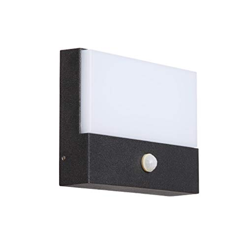 TQQ Lámpara de Pared Interior Lámpara de pared modernos for el hogar sentir el propio cuerpo de la pared de la lámpara LED impermeable al aire libre de la pared de entrada de luz al aire libre pasillo