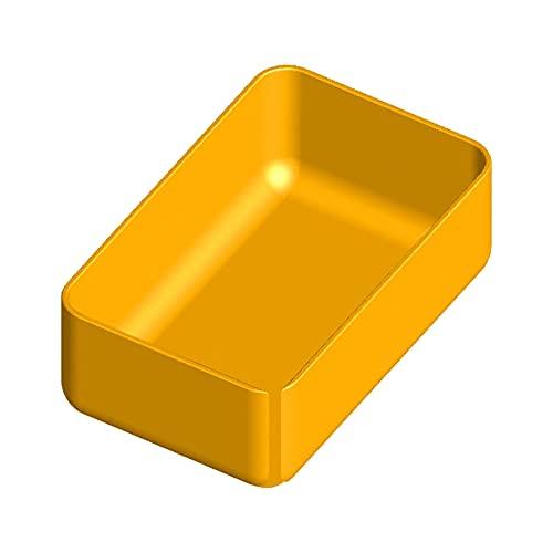 Scatola in polipropilene 90x57 h 32 mm per organizer in plastica Art Plast L372xP314xH40 mm