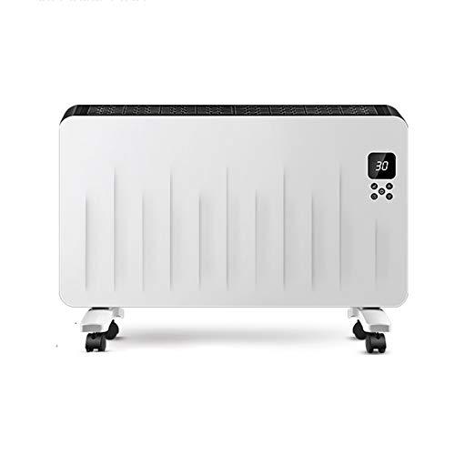 Calentador de Pared de Temperatura Constante Inteligente, con tendedero, Control Remoto por...