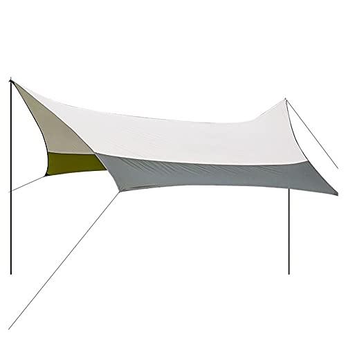 XinBao Carpa para Acampar Al Aire Libre Pérgola Portátil Pabellón Carpa para Espacios Grandes Carpa Familiar para La Playa Verde Claro