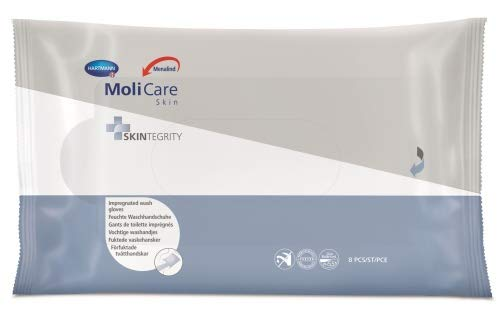 MoliCare® Skin Feuchte Waschhandschuhe UnitCount 24