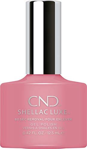 CND Shellac Luxe, Gel de manicura y pedicura (Rose bud) - 1 unidad