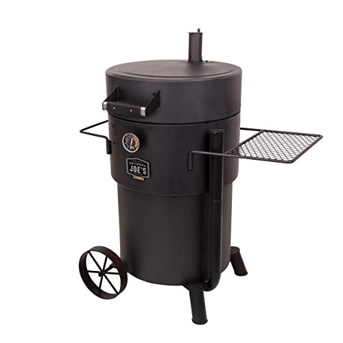 Oklahoma Joe's 19202099 Bronco Pro Drum Smoker, Black