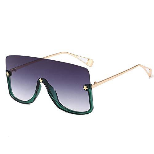 Gosunfly Gafas de sol Gafas de protección solar en gafas de sol Gafas de sol-Caja verde / gris doble
