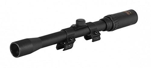 Ottica per carabina aria compressa gamo 4X20 con attacchi cannocchiale mirino