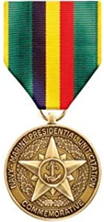 Medals of America Navy and Marine Presidential Unit Commemorative Medal Bronze