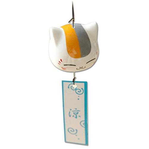 YHX Sommer Freunde Konto Katze Windspiel, japanische Keramik Puppen Windspiele