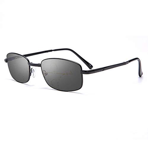 D&XQX Gafas de Sol de transición Fotocromáticas progresivos Multi Focus Gafas de...