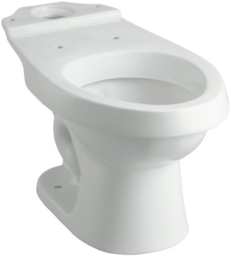 STERLING 402026-0 Rockton Elongated Toilet Bowl, White