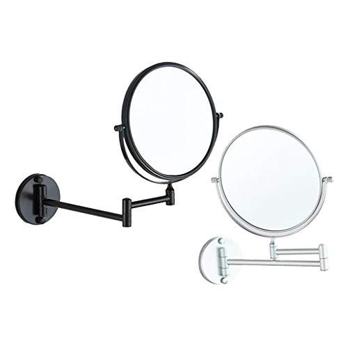 harayaa 2-Pack 3 Plus Miroir Grossissant Pivotant Grossissant