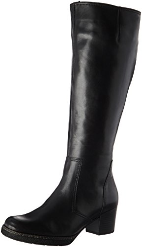 Gabor Shoes Damen Comfort Basic Stiefel, Schwarz (Schw.(S.S/A.S/Mic), 38.5 EU