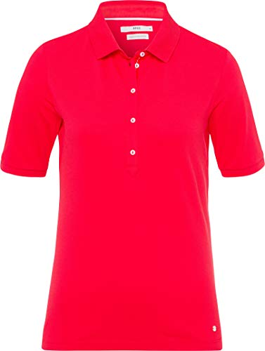 BRAX Damen Style Poloshirt, Summer RED, XX-Large