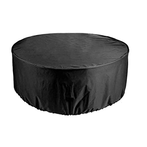 Furniture Covers for Outside Round 140x95cm, Patio Set Outdoor Garden Furniture Protection Strong And Durable Waterproof, for OutdoorGarden Furniture Cover