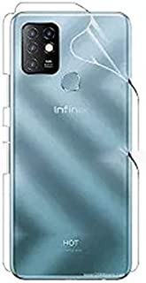 For Infinix Hot 10 2 In 1 Back Full Side Screen Protector Matte anti fingerprint With Nano Glass Camera Screen Protector