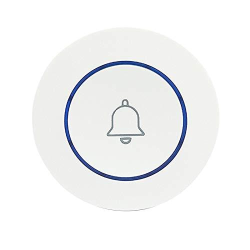 Monland Drahtlos 433Mhz TüR Klingel Kontakt Knopf Heim Sicherheit Willkommen Smart Chimes TüR Klingel Alarm LED Licht