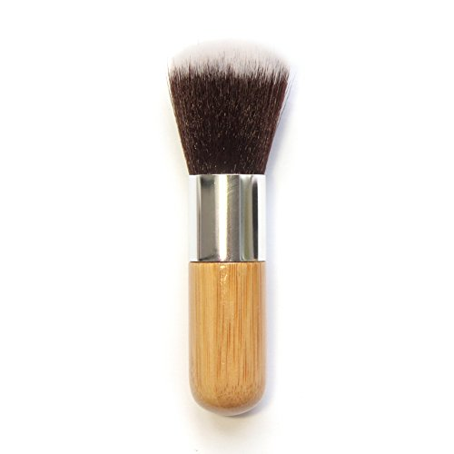 Demarkt 1pcs Poignée ronde en bambou Pinceau maquillage Professionnel Brush Beauté Maquillage Brosse Makeup Brushes 11cm