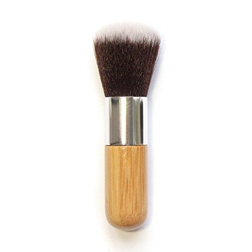 Demarkt 1pcs Poignée ronde en bambou Pinceau maquillage Professionnel Brush Beauté Maquillage Brosse Makeup Brushes 11cm