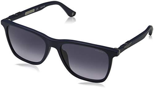 Police Origins 1 Gafas de Sol, Azul (Semi Matte Blue/Grey), 56.0 para Hombre