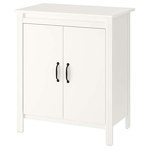Armario IKEA BRUSALI con puertas 80x48x93 cm blanco