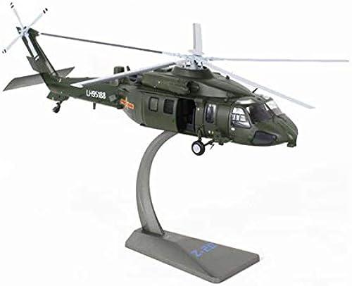 MIAOLIDP 1 48 Hubschrauber - Legierung - Fertigprodukt - Modell - Flugzeugmodell - Geschenkdekoration