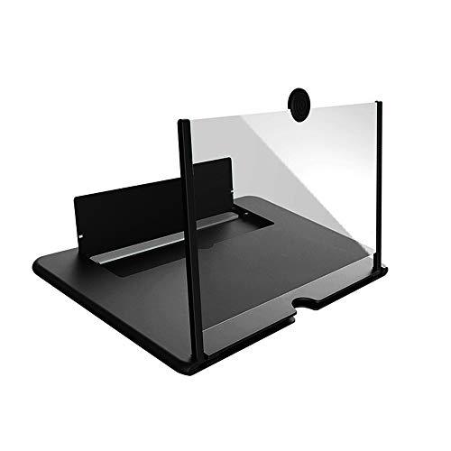 Drawable Handy 3D-Screen Video Lupe, faltbar Biegen Zoom Smart-Phone Zoom-Projektor Bracket, 3D-Effekt HD-großer Bildschirm, mit Desktop-Halter für Film-Spiele