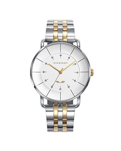 VICEROY - Reloj Acero IP Dorado Brazalete Sr Va - 42381-06