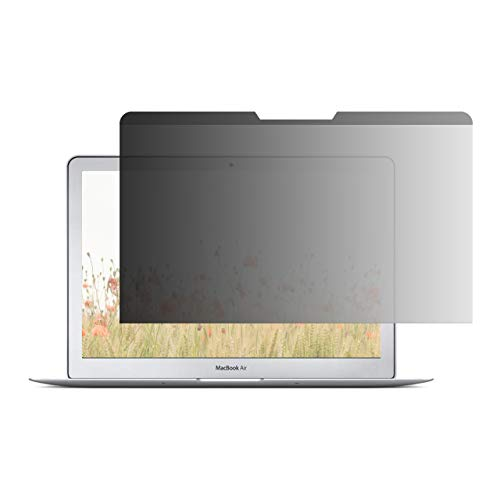 Amazon Basics - Pantalla de privacidad delgada magnética para Macbook Air (2017) de 13' (33 cm)