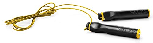 SKLZ Speed Rope Jump Rope and Conditioning Trainer, Black/Yellow