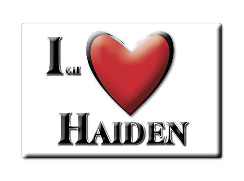 Enjoymagnets Haiden (by) Souvenir Deutschland Bayern Fridge Magnet KÜHLSCHRANK Magnet ICH Liebe I Love