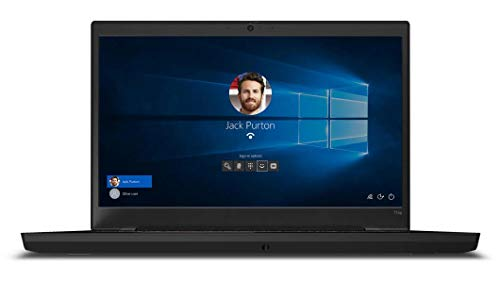 Lenovo ThinkPad T15p Portátil Negro 39,6 cm (15.6') 3840 x 2160 Pixeles Intel Core i7 de 10ma Generación 32 GB DDR4-SDRAM 1000 GB SSD NVIDIA GeForce GTX 1050 Wi-Fi 6 (802.11ax) Windows 10