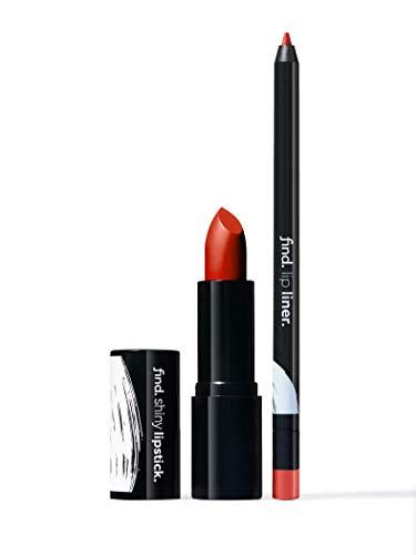 FIND - Glam Queen (Lippenstift, glänzend n.7 + Lippenkonturstift n.12)
