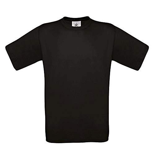 B&C - T-Shirt 'Exact 190' XXL,Black