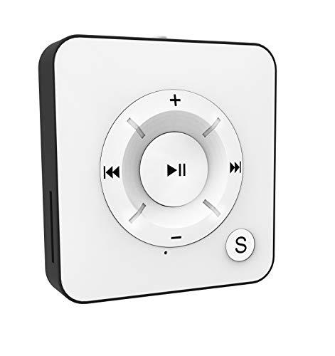 BERTRONIC Made in Germany BC05 Royal MP3-Player | 15 Stunden Wiedergabe | Portabler Player mit Clip, Audio-Player für Sport, Fitness, Joggen mit 16 GB Micro SD-Karte