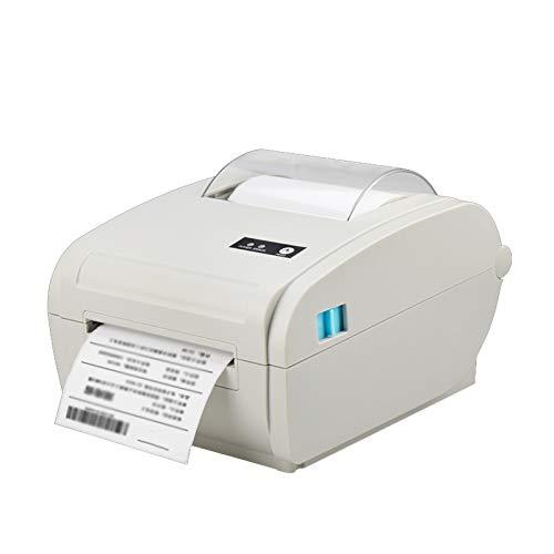 Impresora térmica directa, impresora de etiquetas Bluetooth para impresión de alta velocidad a 160mm/s,4x6 pulgadas de alta velocidad compatible con Etsy, Ebay, Amazon, compatible con Windows y Mac