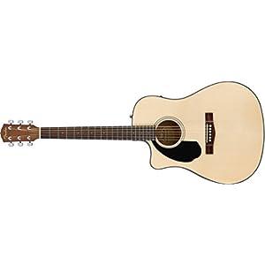 Guitarra acústica Fender CD-60 toda de madera de caoba: Amazon.es ...