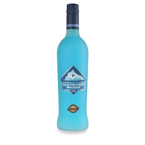 GLETSCHERWASSER PARTY-LIKÖR mit dem herrlich frischen ICE Geschmack von Gletscher Bonbons - perfekt als Geschenk für Freunde oder zum selbst genießen 16% vol. (1 x 0.7l)