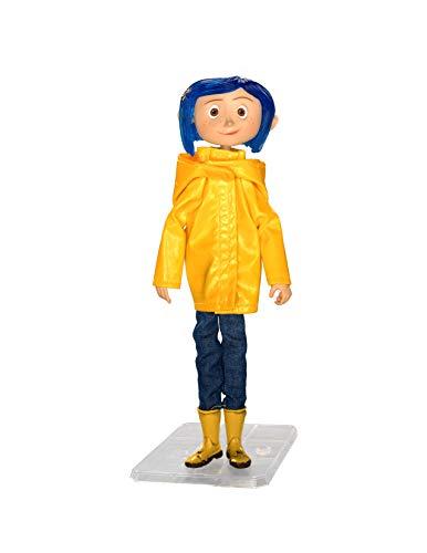 Neca - Figurine Coraline - Coraline Impermeable 18cm - 0634482495704